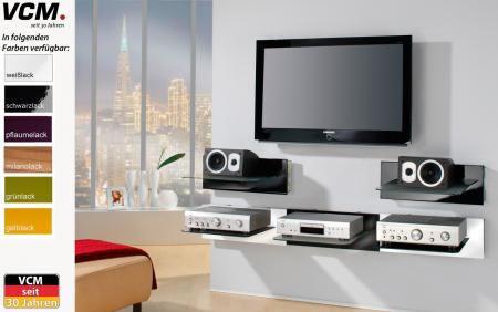 """VCM Paneelserie """"Xeno-1"""" (Hifi- und TV-Moebel)"""